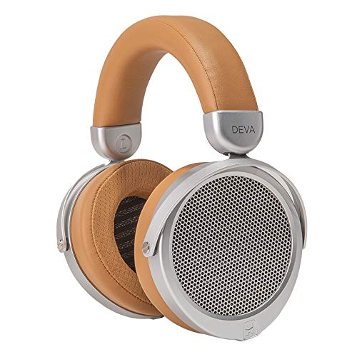 HiFiMAN Deva Wired Over The Ear Headphone (Brown/Beige)