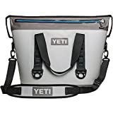 YETI Hopper Two 30 Portable Cooler, Fog Gray / Tahoe Blue