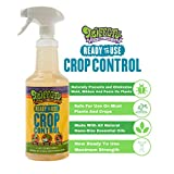 Trifecta Crop Control Ready to Use Maximum Strength Natural Pesticide, Fungicide, Miticide, Insecticide, Eliminate Spider Mites, Powdery Mildew, Botrytis and Mold on Plants Non-Toxic 32 OZ Size