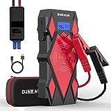 DINKALEN Booster Batterie1600A Portable Jump Starter Moto (Toute Essence / 7.0L...