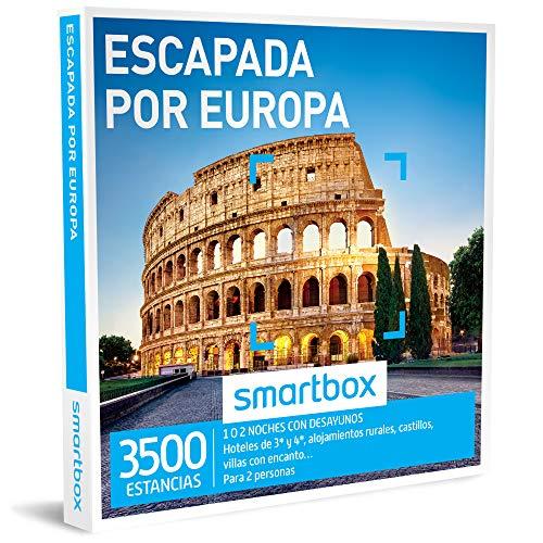 Smartbox - Caja Regalo - ESCAPADA por Europa - 3500 estancias en...
