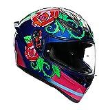 AGV(エージーブイ) バイクヘルメット フルフェイス K1 SALOM (サロム) M (57-58cm) 028191IY006-M ブルー