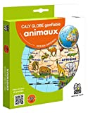 Globe gonflabe 'Animaux' 30cm