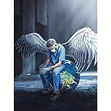 AOlsyh Doctor ángel DIY Pintura de Bricolaje por Kit Digital Mejores niños en Lienzo per Bambini studenti adulti e principianti 40x50cm Frameless