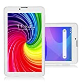 Indigi 2-in-1 Phablet 7-inch Android Pie Tablet 4G LTE Smart Phone - GSM Unlocked AT&T T-Mobile (White)
