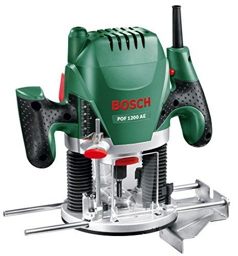 Bosch Home and Garden 060326A100 POF 1200 AE Fresatrice, 1200 W, 230 V, Multicolore, 1 Pezzo