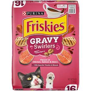 Purina Friskies Gravy Swirlers Adult Dry Cat Food