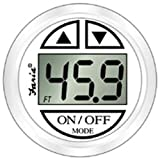 Faria 13151 Dress White Depth Sounder with in-Hull Transducer (3003.3649)