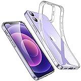 ESR iPhone 12 用 ケース iPhone 12 Pro 用 ケース 6.1インチ 透明 軽量 tpuカバー 柔軟 シリ……