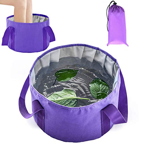 Collapsible Foot Basin - Portable Foot Bath Tubs Soaking Feet Home Pedicure Foot Spa