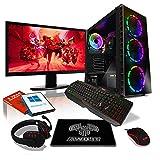 AWD-IT Ensemble PC de Bureau de Jeu - APU AMD Ryzen 3 3200G 4,0 GHz/Radeon...