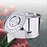 ARC USA,S52S 3 in 1 52QT-13 Gallon Stainless Steel Stock Pot,with Lid & Steamer Rach, Vaporera Divider Tamales Steamer, Tamale, Dumpling, Crawfish, Crab Pot,Seafood Pot