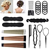 Accessoires de Coiffure, URAQT Set d'Outils de Coiffure, Cheveux Coiffure...