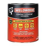 DAP 00272 Original Contact Cement Qt Raw Building Material, 1, Tan, 128 Fl Oz