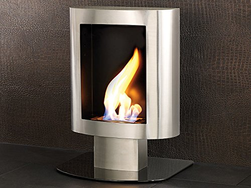 Decorative Fireplace Bio-Ethanol Stainless Steel for Wall and Floor