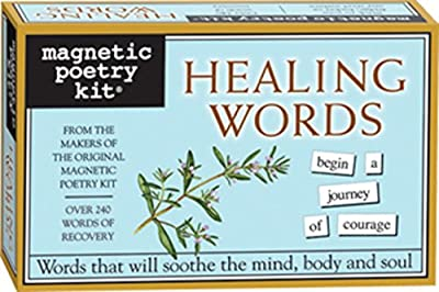 Tap into the positive and encouraging power of the healing process with this collection of magnetic words like change, dream, grace, peace, recover, spirit and transform. CONTAINS - over 200 themed magnetic word tiles in a cute, colorful, giftable 4....