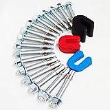 Bendpak Lift Installation install Kit -16 Wedge Anchor Bolts & 30 pack shim kit