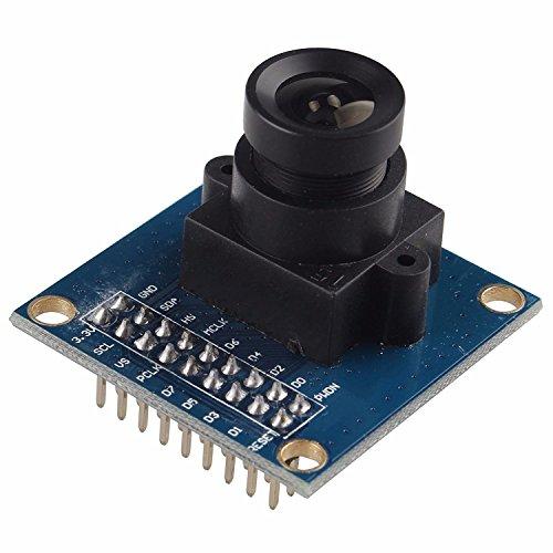 VGA OV7670 300KP 0,3 megapixel sensore CMOS Modulo telecamera CMOS lente 640X480 SCCB compatibile W/ I2C Interfaccia per Arduino