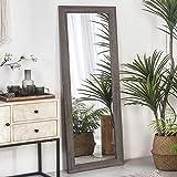 RHF Full Length Mirror, Rustic Wood Framed Floor Mirror, Farmehouse Chic Decorative Wall Mirror,...