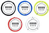 Juscycling Universal Bicycle Brake Housing Cable Kit for Bicycles -5 Color Options (Blue1)