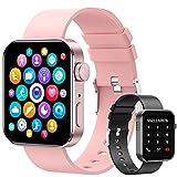 Smartwatch, 1.72' Reloj Inteligente Hombre Mujer Pulsera Actividad, Reloj Inteligente Con...