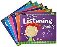 Stories told from the perspectives of diverse children enable students to learn about relationships and feelings! The inside front cover of each book offers teaching tips to ease conversations about behavior while building reading skills to meet Comm...