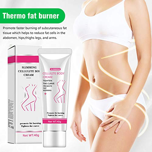 Hot Cream, Cellulite Slimming and Body Fat Burning Cream Weight Loss Serum Treatment Deep Tissue Massage for Shaping Waist, Abdomen and Buttocks 8