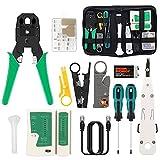 16 en 1 Testeur de Network Réseau Câble Kits d'Outil de Réparation...