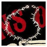 Chaîne de pantalon, Portefeuille en métal solide en métal argenté chaîne hip hop gothique rock punk moto jeans pantalons de la chaîne de la taille de la taille de la taille de la chaîne de taille Homm