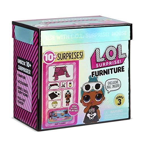 Image 4 - LOL Surprise Poupées collectionnables pour filles - Avec 10 surprises et accessoires - Sleepy Bones - Mobilier Series 3