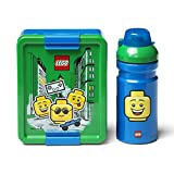 Set per il pranzo al sacco LEGO ragazzo. Portavivande e bottiglia