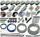 準備万端シリーズ (1回練習分) 第二種電気工事士技能試験練習用材料「全13問分の器具・電線セット」