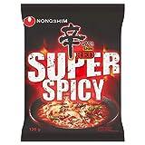 Nong Shim Instantnudeln Red Shin Ramyun / Koreanische Instant Noodles Suppe sehr scharf - schnelle Zubereitung / 1 x 120 g (Lebensmittel & Getränke)