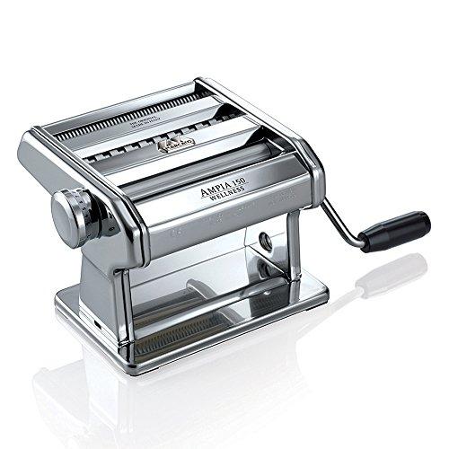Marcato AM-150-CLS Ampia Nudelmaschine, verchromter Stahl, Silber