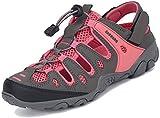 Hommes Femmes Randonnée Sandale Sports Bout Fermé Chaussures De Marche en Plein Air Plage Eau...