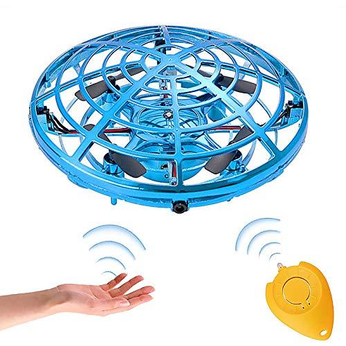 GOLDGE Mini UFO Drone per Bambini e Adulti, Ricaricabile Mini Drone Mini Quadricottero Motion Hand...