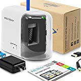 NIL TECH Electric Pencil Sharpener - Added BONUS of Drawing Tutorials Digital Library. Portable Heavy Duty Multi Powered AC Plug In And Battery Operated. For Artist, Art Classroom, Office, Small Kids