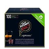 Caffè Vergnano 1882 Èspresso Capsule Compostabili Caffè Arabica, Compatibili Nespresso e con le macchine èspresso1882 trè, Pack da 100 Capsule
