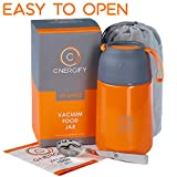 Energify Vacuum Insulated Food Jar - Stainless Steel Food Thermos,...