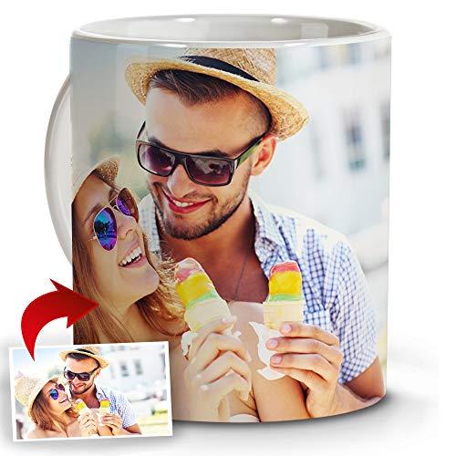 LolaPix Tazas Personalizadas con Foto. Regalos Personalizados con Foto. Taza Personalizada Cerámica.