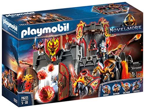 PLAYMOBIL Novelmore Fortaleza de los Bandidos de Burnham, Para Niños de 5 a 10 Años de edad (70221)