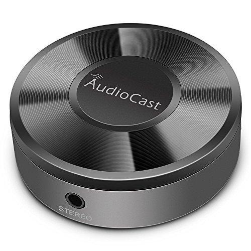 ACEMAX M5 Audiocast WLAN-Musikadapter DLNA Airplay Spotify DEEZER Unterstützt das Streamen von Audio zu Lautsprechersystemen über Wi-Fi von Mobilgeräten NAS Windows Multi Room Unterstützt