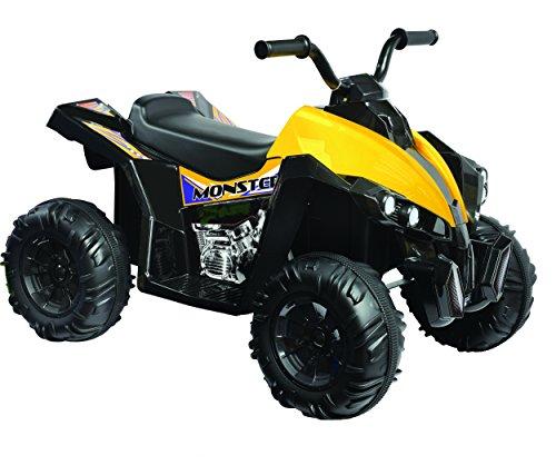 Kid Motorz Monster Quad in Black (12V)