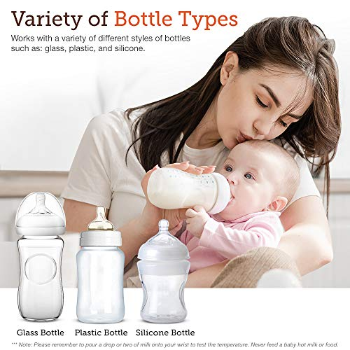 BabyX-Fast-Bottle-Warmer-For-Breastmilk-Infant-Formula-Baby-Food-Heater-Quickly-Warm-and-Sterilizer-Sanitize-Pacifiers-and-Fits-Most-Bottle-Size-Built-in-Smart-Temp-Controller