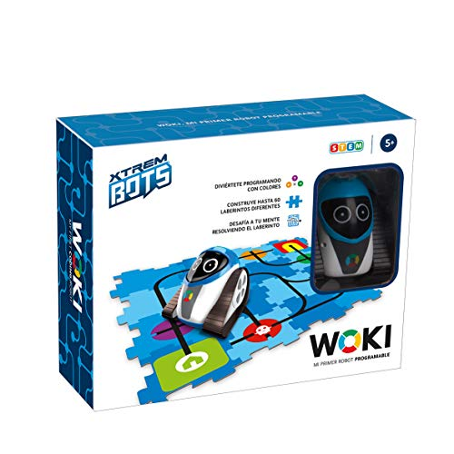 Xtrem Bots - Woki, Juguete Robot Niño Educativo, Robots Juguetes...