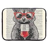 s Use Copas de Vino Tinto Bolsas para computadora portátil Compatible con Tableta Netbook de 15 ″, Maletín con Funda Pringting Funda para Bolso con Funda