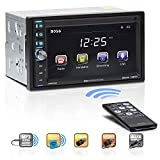 BOSS Audio Systems BV9370B Car Stereo - Double Din, Bluetooth Audio/Hands-Free Calling, 6.5 Inch Touchscreen LCD Monitor, MP3 Player, USB Port, SD Card Slot, AUX Input, AM/FM Radio Receiver, No CD/DVD
