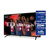 TD Systems K32DLK12H - Televisores 32 Pulgadas HD 3X HDMI, USB, 800 PCI Hz, Grabador Reproductor, DVB-T2/C/S2 Modo Hotel - Televisores TD Systems K32DLK12H. Televisiones
