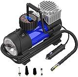 LYSNSH 12V DC Portable Air Compressor - 150 PSI Digital Tire Inflator Tire Pump with Pressure Gauge