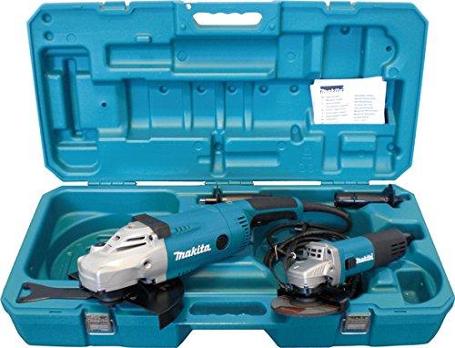 Makita Winkelschleifer-Set 230 / 125 mm, DK0052G